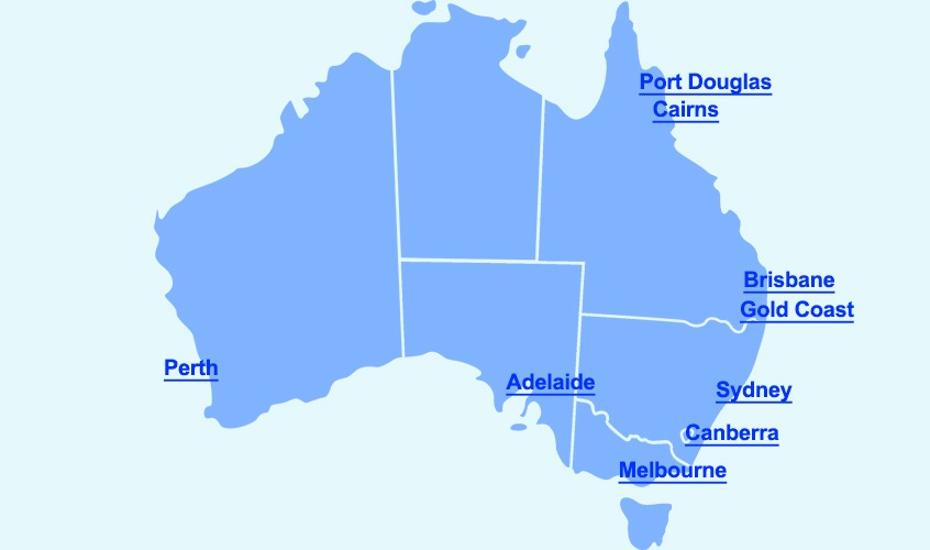 Gold coast to canberra direct flights